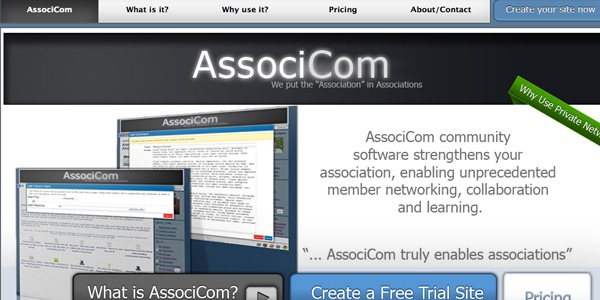 AssociCom Screenshot